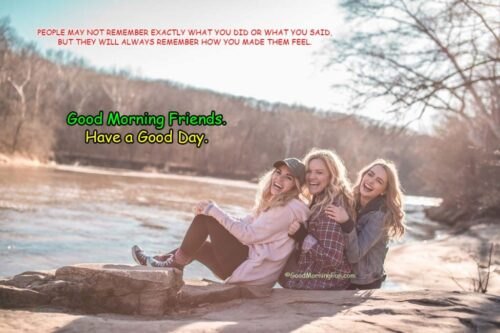 Good Morning Quotes for Special Friend - Always make the friends happy quotes