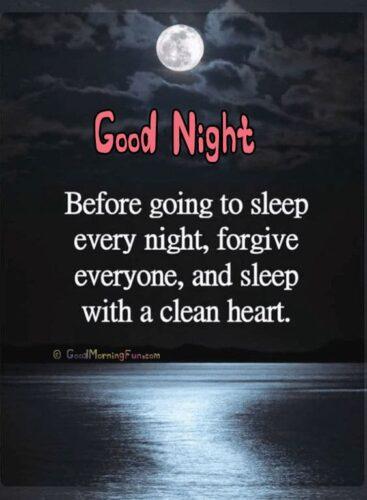 Before going sleep, Forgive everyone - Good Night