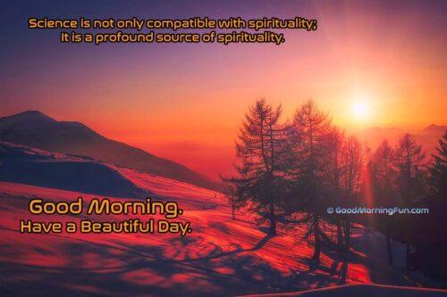 Good Morning Quotes on Spirituality