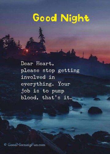 Good Night Sad Quotes
