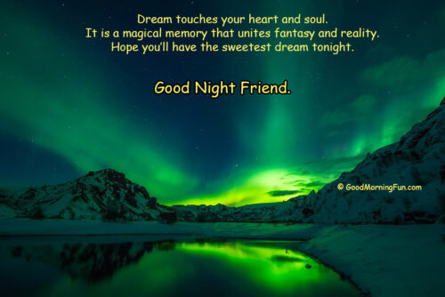 Inspirational Good Night Quotes about Dreams - Sleep Well