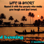 Cute Good Evening Quotes With HD Images Greetings