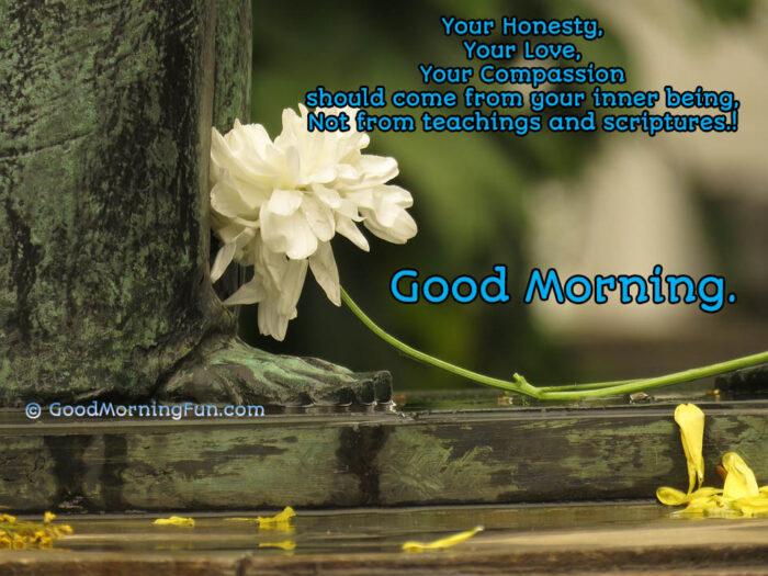 Morning Spiritual Teachings and Sayings
