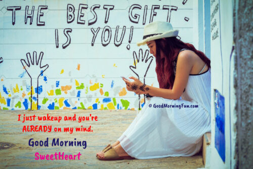 The best gift is you - Love quotes for him