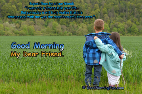True friendship - Love Failure - Good Morning Quote