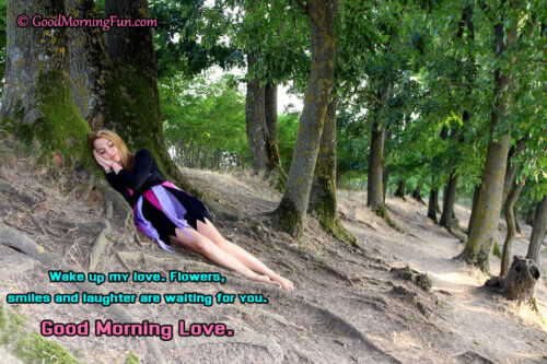 Wake up My Love - Love quotes for her