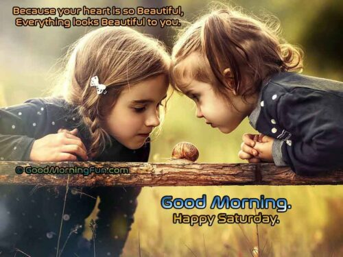 Your heart is so beautiful - Good Morning With Cute Children