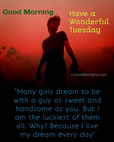 Good Morning Tuesday Quotes for Lover
