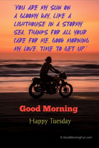 Happy Tuesday Quotes for Lover