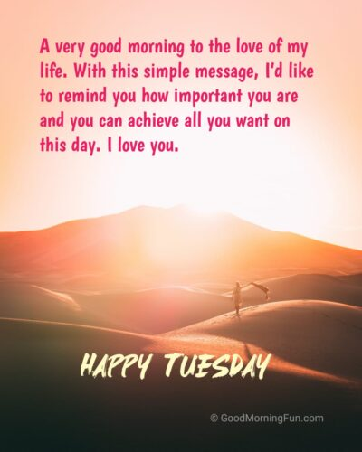Happy Tuesday Quotes for Wife