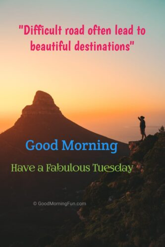 Tuesday Inspirational Wishes