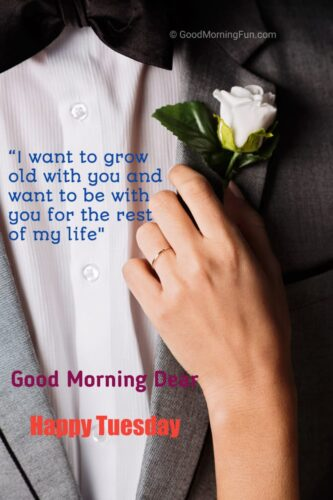 Tuesday Love Quotes for Husband