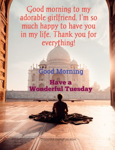 Tuesday Quotes for Girlfriend