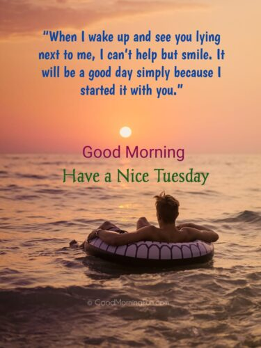 Tuesday Quotes for Lover