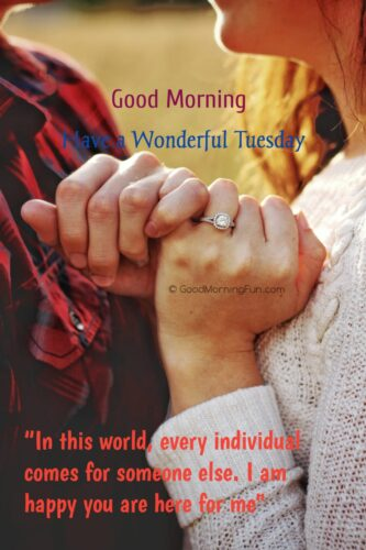 Wonderful Tuesday Quotes for Husband