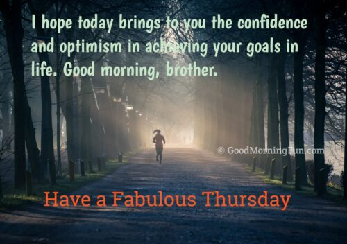 Good Morning Thursday Images for Brother