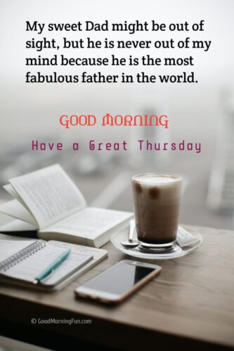 Great Thursday Quotes for Dad