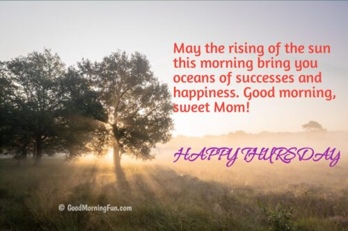 Happy Thursday Quotes for Mom