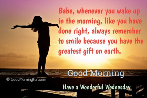 Good Morning Wednesday Love Quotes