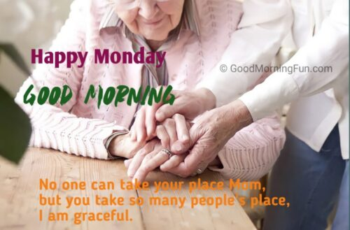 Happy Monday Mom Wishes