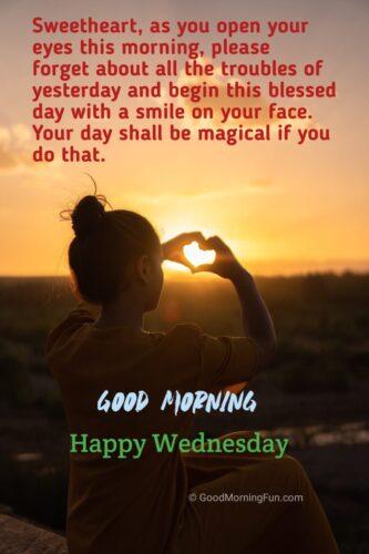 Happy Wednesday Sweetheart