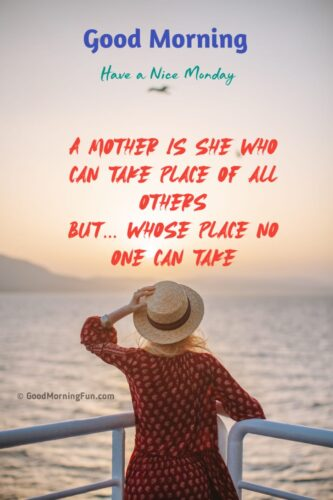 Monday Quotes for Mother