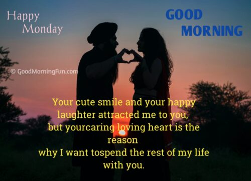 Monday Wishes for Lover