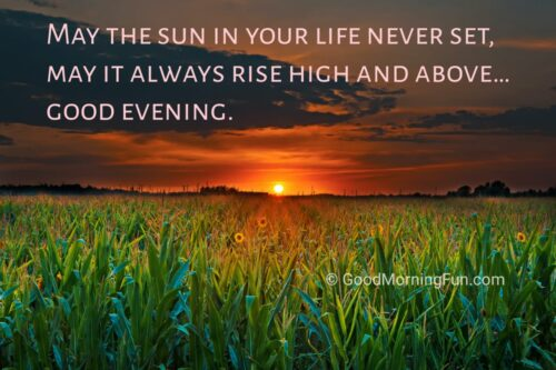 Good Evening Motivation