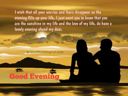 Romantic Good Evening Messages
