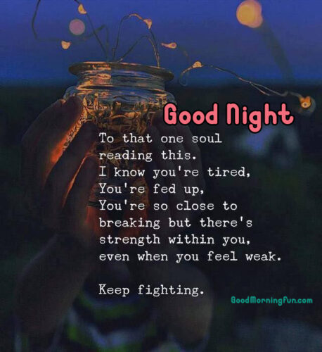 Special Friend Good Night Quote